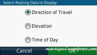 mengubah info perjalanan