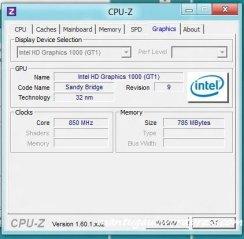CPUZ info