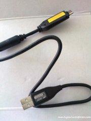 Kabel data sekaligus kabel charger