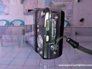 Tampak samping, USB dan micro HDMI