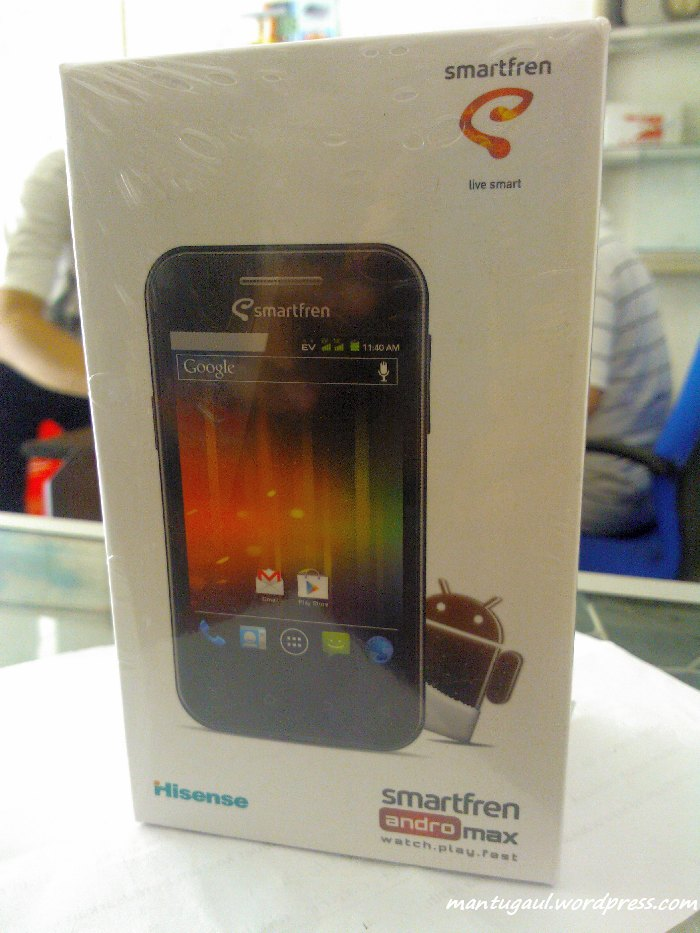 Review Ponsel Smartfren Andro Max, Android ICS CDMA Termurah (2/6)