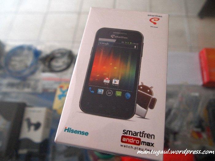 Review Ponsel Smartfren Andro Max, Android ICS CDMA Termurah (3/6)