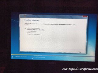 Instal Windows 7