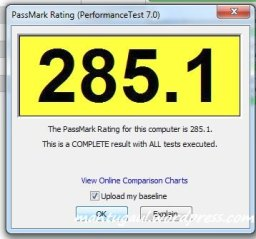 Benchmark Performance Test 7