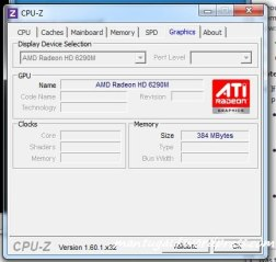 Graphics CPU-Z