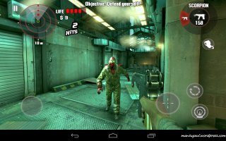 Dead Trigger, game Tegra 3