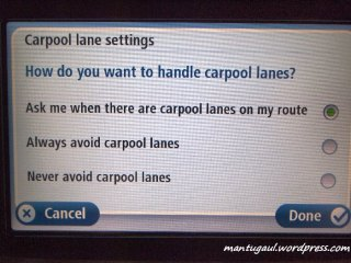 carpool lane