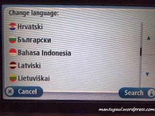 Menu juga ada bahasa indonesia