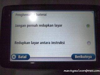 Penghematan baterai