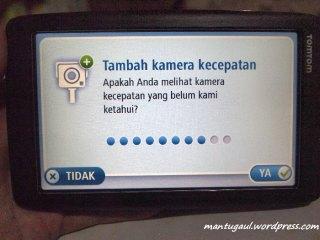 Kamera kecepatan/speed camera, tak berguna di indonesia