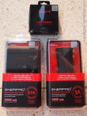 Kotak Enerpad 2600 & 5200 & Charger USB
