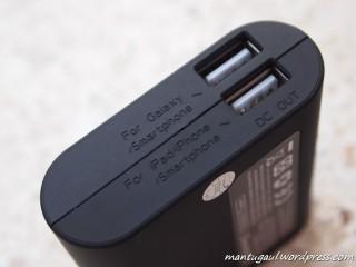 5200: 2 port usb, utk smartphone dan idevices