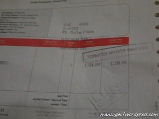 Bon pembelian Rp1.199.000 di indocomtech