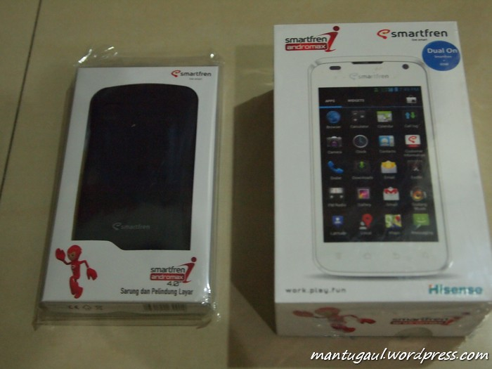 Review Android Smartfren Andromax I, Dualcore Termurah CDMA-GSM (3/6)