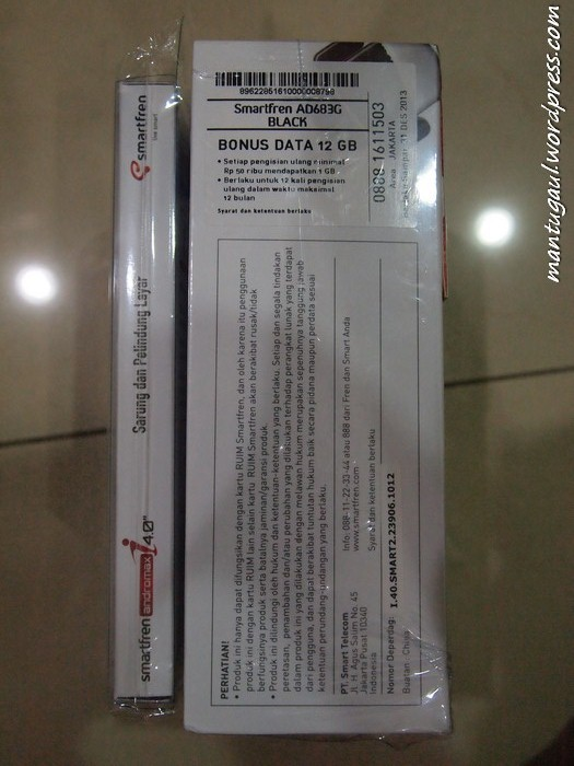 Review Android Smartfren Andromax I, Dualcore Termurah CDMA-GSM (5/6)