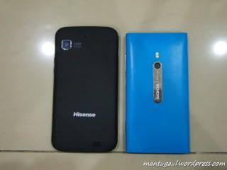 Perbandingan dengan Lumia