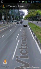 Google maps with streetview