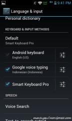 Keyboard bisa pakai suara