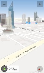 3D building Jakarta