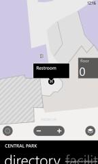 Nokia Maps with indoor maps cari toilet :)