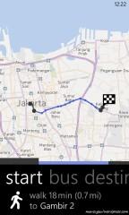Peta Nokia transit
