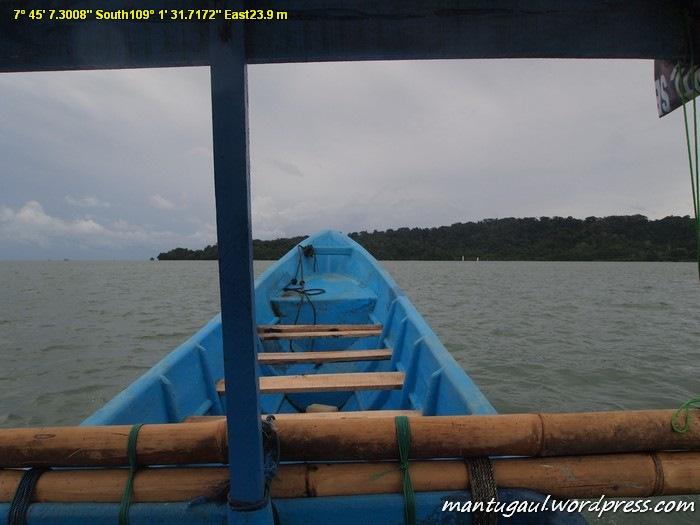 Mendekati Pulau Nusamkambangan