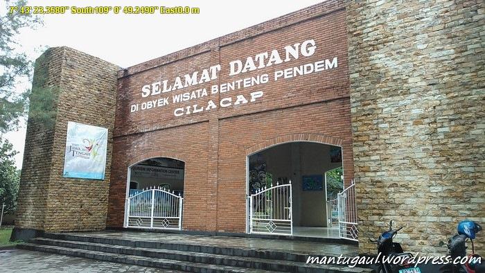 Benteng Pendem Kota Cilacap