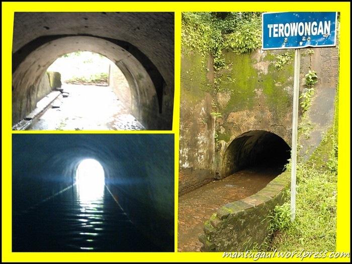 Masuk ke terowongan Benteng Pendem, ada jalur rahasia ke dalam laut dibawahnya untuk menyeberang ke Pulau Nusakambangan. Sewa senter+guide Rp10.000