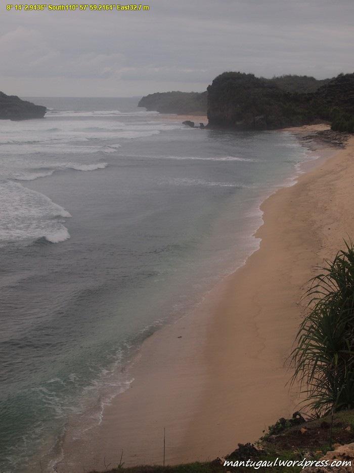 Pantainya bersih