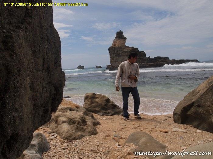 Mantugaul was here at Pantai Mbuyutan