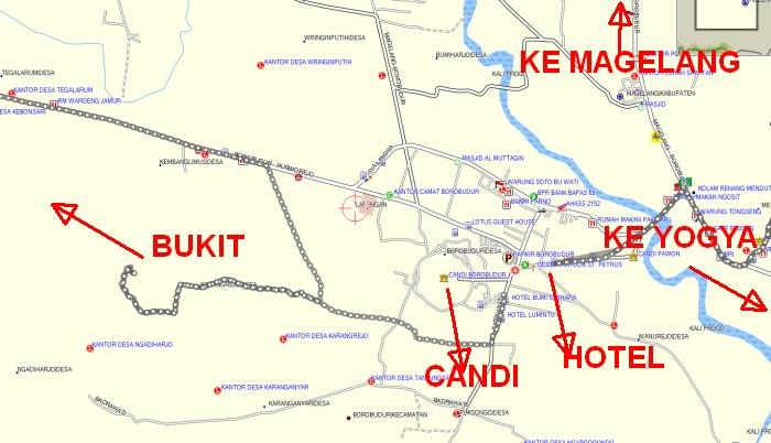 Peta Borobudur