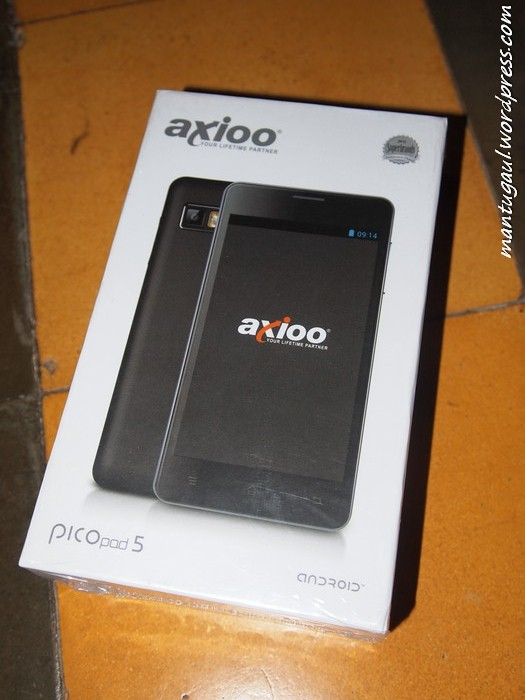 Review Android Axioo Picopad 5 GEW Dualcore,