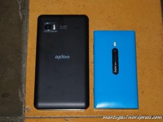 Perbandingan Nokia Lumia 800
