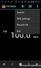 Record FM radio