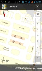Google Maps Indoor maps