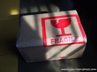 Wah paket datang