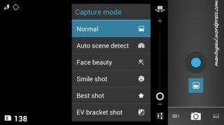 Capture mode
