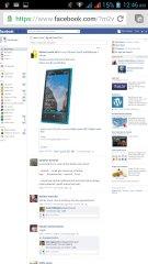 Buka facebook