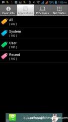 Instal 100 aplikasi masih enteng :)