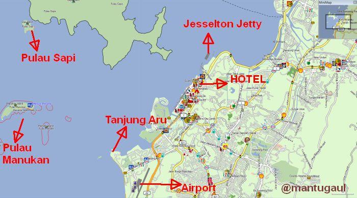 Peta Kota Kinabalu