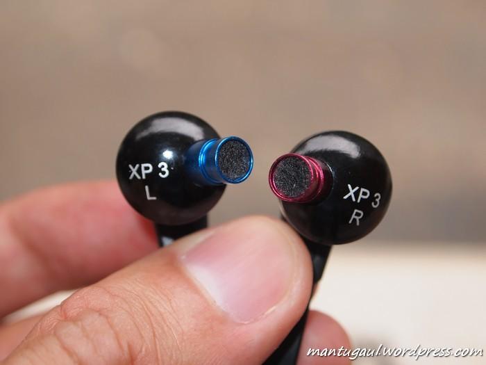 Kepala earphone tanpa earbud