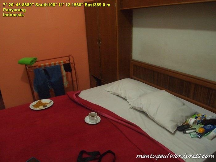 Hotel Taman Mangkubumi, hotel tua yang sudah harus direnovasi.