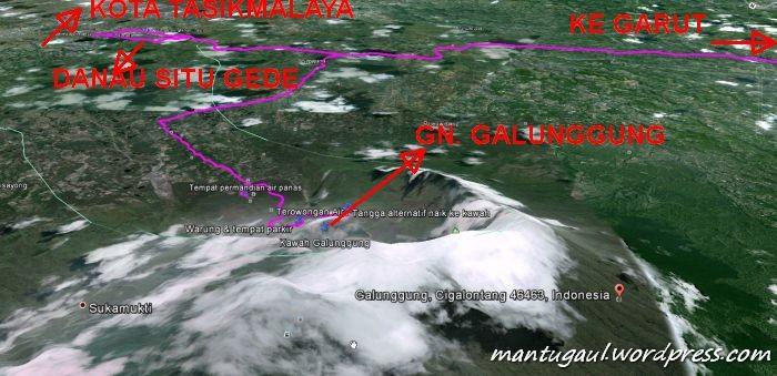 Peta Satelit Tasikmalaya