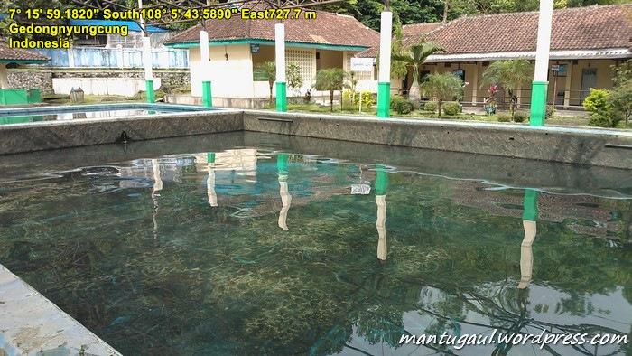 Daerah permandian air panas, Cipanas Galunggung