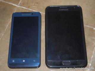 Perbandingan P770 dan Samsung Galaxy Note
