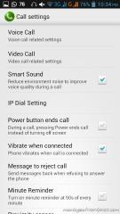 Pengaturan phone