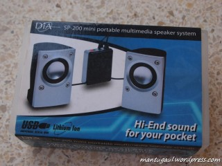 Kotak Delcell Mini Stereo