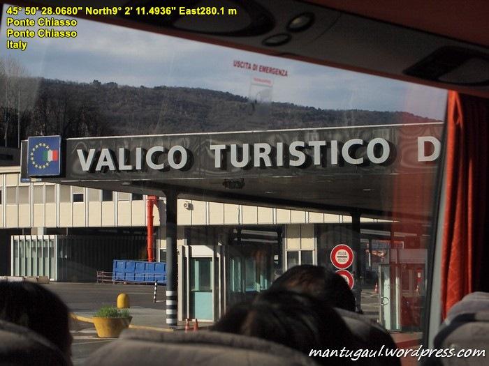 Perbatasan Italia dan Swiss
