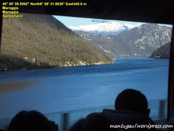 Begitu masuk Swiss langsung disuguhi pemandangan menakjubkan