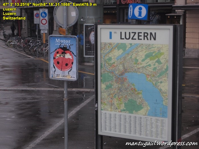 Nah sampai di Luzern